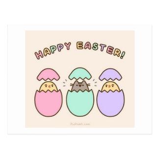 ¡Pascua feliz! Postal