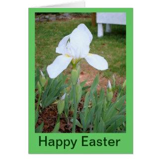 Pascua feliz tarjeta de felicitación