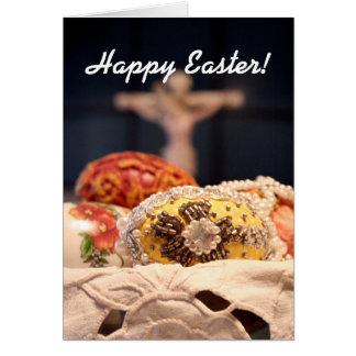 ¡Pascua feliz! Tarjeta De Felicitación