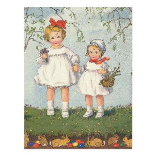 Pascua feliz postal
