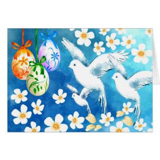 Pascua feliz. Tarjetas de felicitación de los