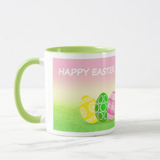 Pascua feliz taza