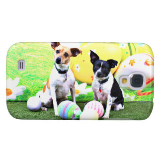 Pascua - fox terrier - Sadie y Baboo Funda Para Galaxy S4