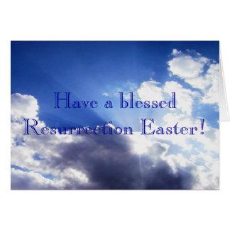 ¡Pascua! Tarjetón
