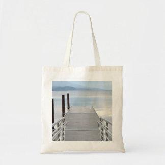 Paseo al lago bolsa tela barata