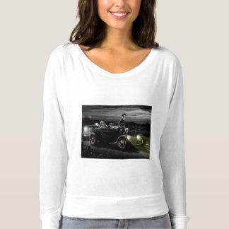 Paseo B&W de la alegría Camiseta