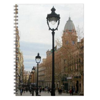 Paseo de Barcelona - Portal del Angel Notebook Libro De Apuntes