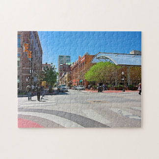 Paseo de la ciudad puzzle