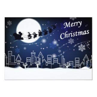 Paseo de la Nochebuena con la tarjeta de la Invitacion Personal