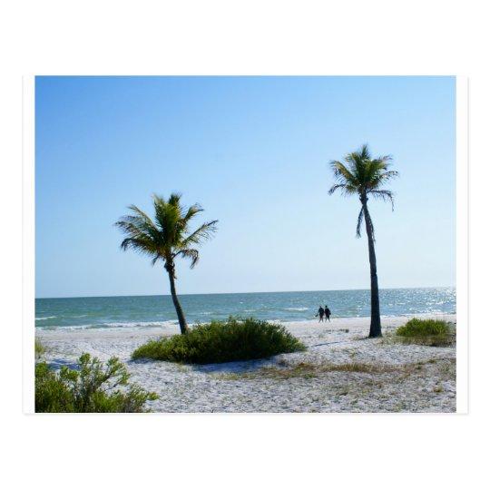 Paseo de la playa postal