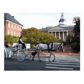 Paseo del caballo y del carro de Annapolis Postal