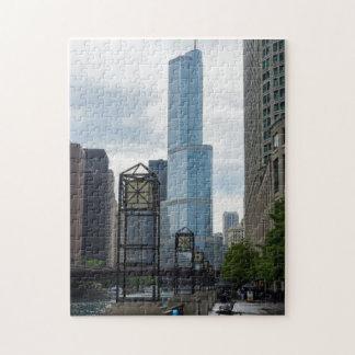 Paseo del río Chicago Puzzle