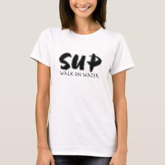 Paseo del SORBO en el agua Camiseta