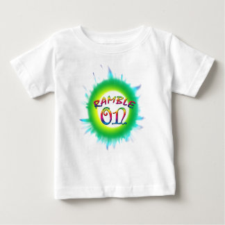 Paseo encendido camiseta de bebé