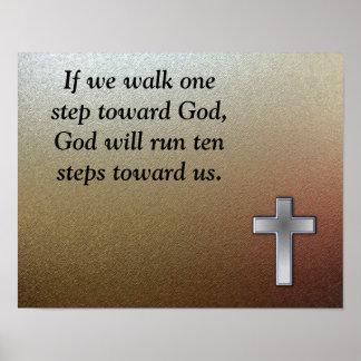 Paseo hacia dios poster