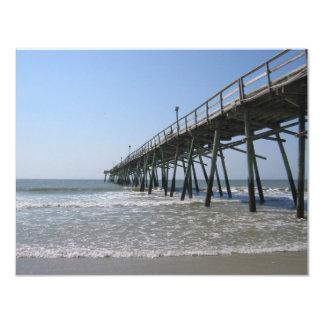 Paseo marítimo de Carolina del Norte Invitacion Personalizada