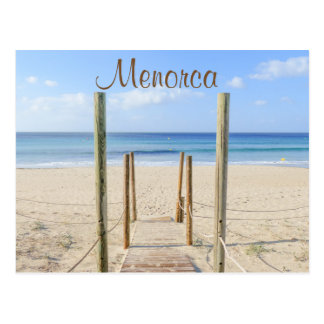 Paseo marítimo de Menorca a la postal de la playa