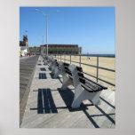 Paseo marítimo del parque de Asbury Posters