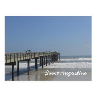 Paseo marítimo, St Augustine, la Florida Postal
