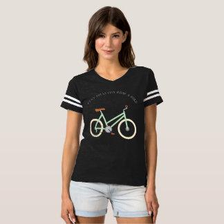 Paseo sano de la estancia una bici camiseta