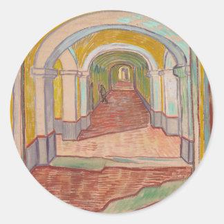 Pasillo en el hospital Vincent van Gogh de San Pegatina Redonda