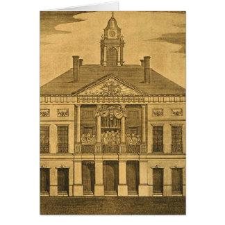 Pasillo federal, N.Y., inauguración Tarjetón