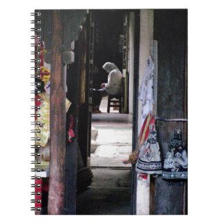 """""""Pasillo reservado"""" Shangai Libros De Apuntes"""