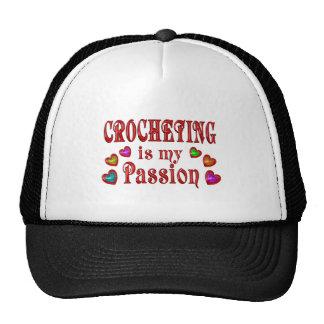Pasión Crocheting Gorra