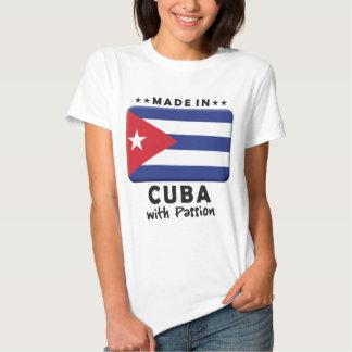 Pasión K de Cuba Camisetas