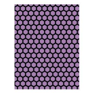 Pasión púrpura postal