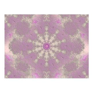 Pasión violeta postal