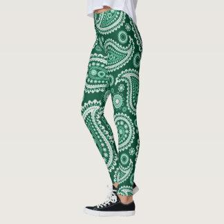 Pasly verde leggings