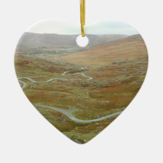 Paso de Healy, península de Beara, Irlanda Adorno De Cerámica En Forma De Corazón