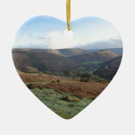 Paso de herradura, Denbighshire, País de Gales Adorno De Navidad