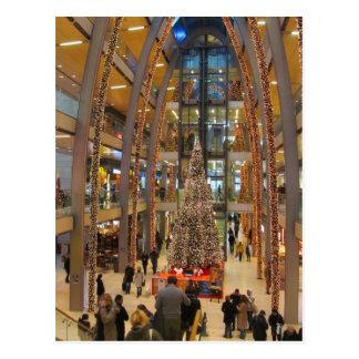Paso del Europa en el navidad -- Hamburgo, Postal