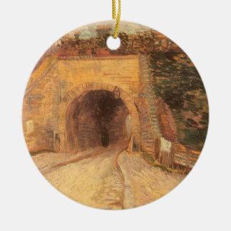 Paso inferior del camino w; Viaducto de Vincent Ornamento De Navidad