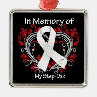 Paso-Papá - en corazón del cáncer de pulmón de la  Adorno Para Reyes