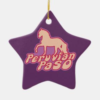 Paso peruano ornaments para arbol de navidad