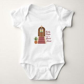 Pasos de bebé body para bebé