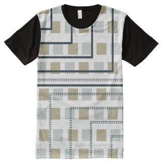 Pasos de Blass Camiseta Con Estampado Integral