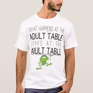 """Passover la camiseta básica """"la tabla """"de los"""