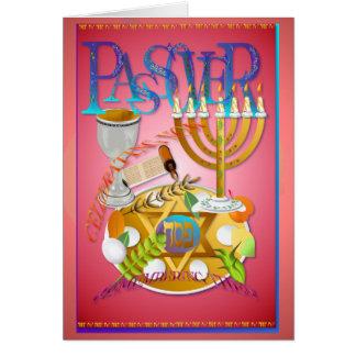 Passover Seder Tarjeta De Felicitación