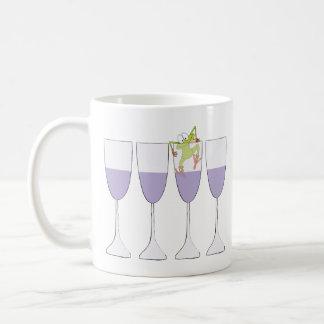 """Passover """"vino y rana"""" taza de café de 11 onzas"""
