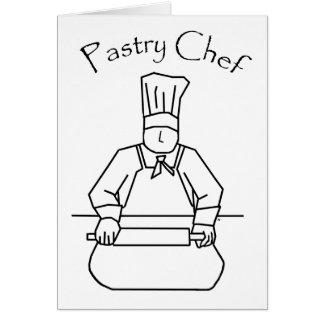 Pasta de Rolls del chef de repostería Tarjeta