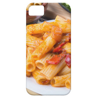 Pastas cocinadas del rigatoni, sazonadas con funda para iPhone SE/5/5s