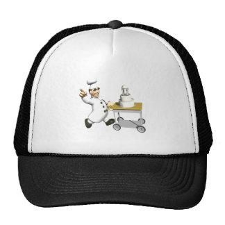 Pastel de bodas gorras
