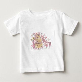Pastel de bodas ridículo delicioso camiseta