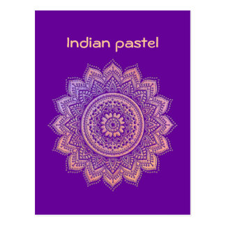 Pastel indio