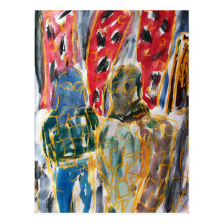 Pastel y Watercolour del aceite del arte del Postal