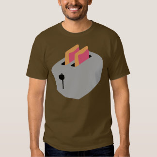 Pasteles de la tostadora camiseta
